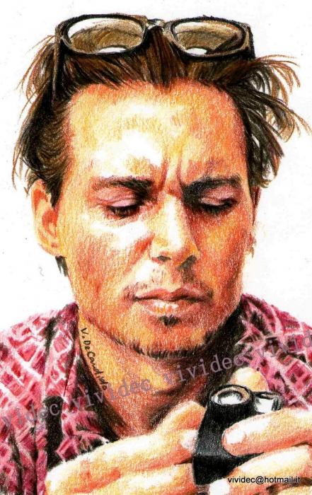 Johnny Depp par vividec